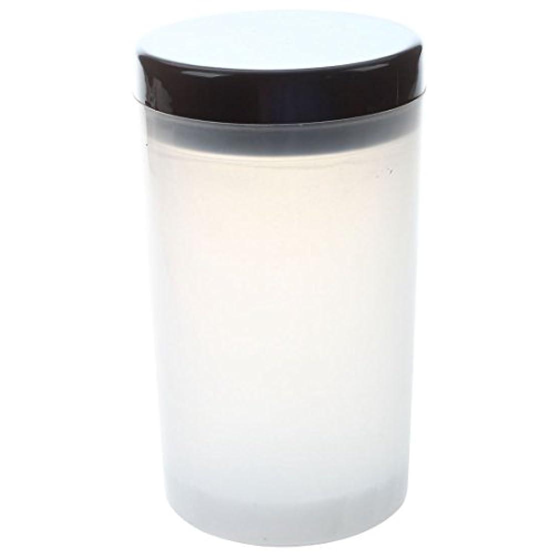 軽量女性横にCikuso ネイルアートチップブラシホルダー リムーバーカップカップ浸漬ブラシ クリーナーボトル