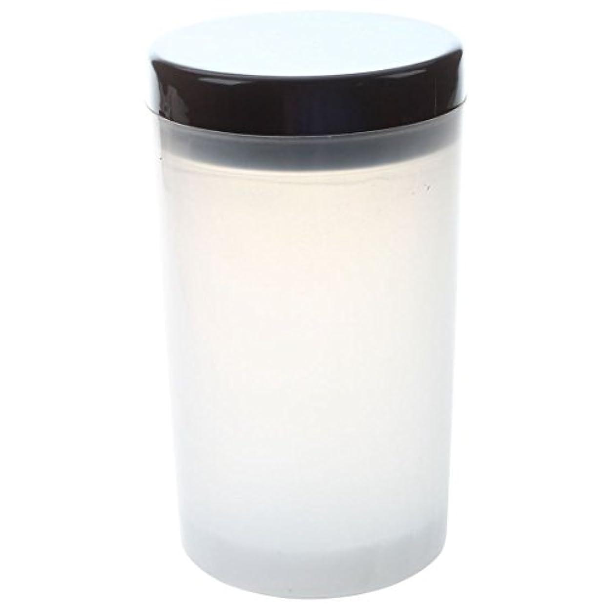 噛む合計汚染するGaoominy ネイルアートチップブラシホルダー リムーバーカップカップ浸漬ブラシ クリーナーボトル