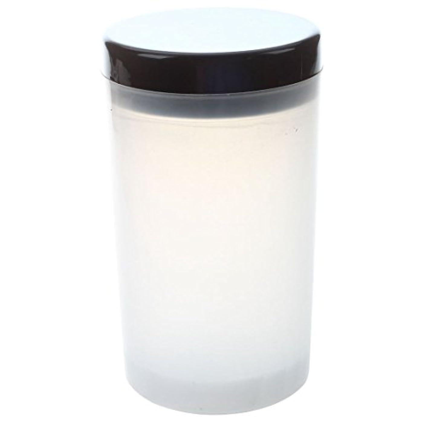 暗殺する雄弁な食べるSODIAL ネイルアートチップブラシホルダー リムーバーカップカップ浸漬ブラシ クリーナーボトル