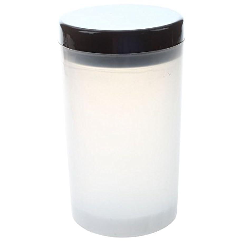 強化するリム連続的ACAMPTAR ネイルアートチップブラシホルダー リムーバーカップカップ浸漬ブラシ クリーナーボトル