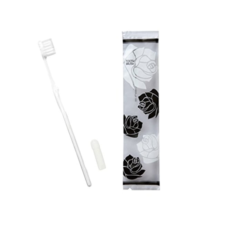 キッチン石灰岩仮装ローゼス ホテル業務用ハブラシ(白)21穴 3gチューブ 50本