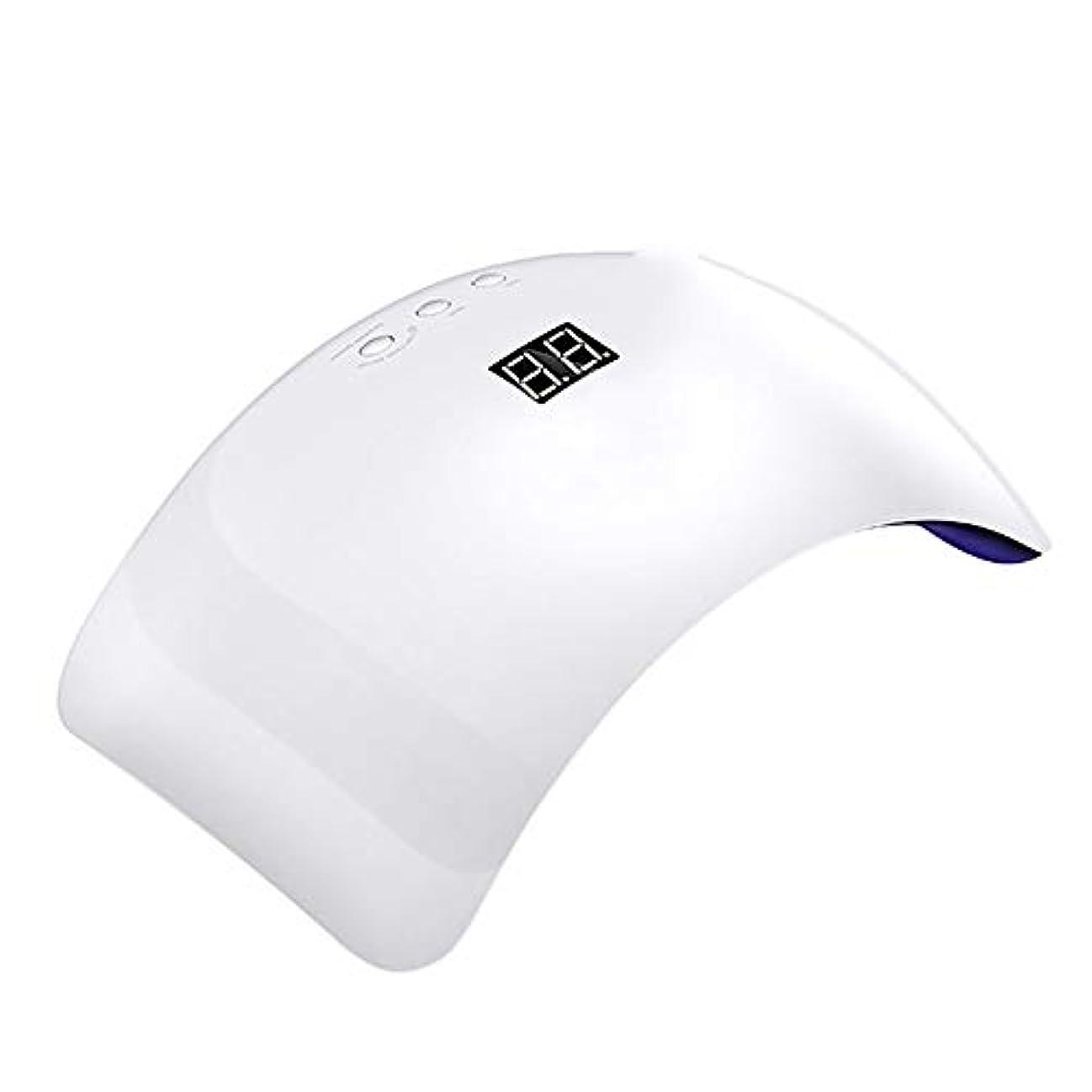 ソーセージ矢所持釘のドライヤー - 自動赤外線センサー、二重光源のLEDランプのゲルのドライヤーのマニキュアが付いている紫外線携帯用LEDの釘ランプ
