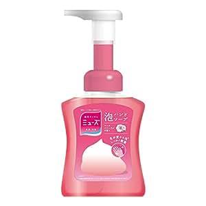 薬用せっけんミューズ 泡 ハンドソープ ピンクフローラルの香り 色が変わる泡 本体ボトル 250ml 殺菌 消毒 手洗い 保湿成分配合