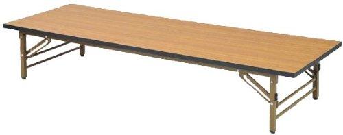 山善(YAMAZEN) サイバーコム 会議用テーブル座卓用(幅180奥行60) ブラウン MCT-1860S