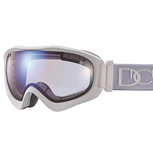 【国産ブランド】DICE(ダイス) スキー スノーボード ゴーグル ジャックポット 紫外線で色が変わる ULTRAレンズ ミラー 調光 プレミアムアンチフォグ JP84265MAW