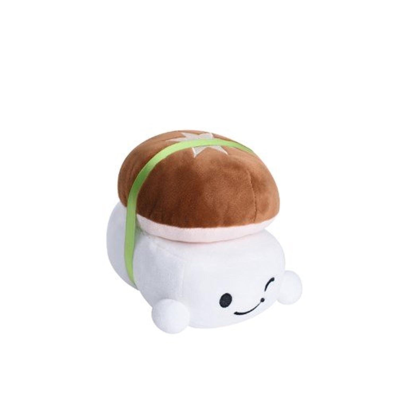 Character Cushion Toy - CHOBA 3 Mushroom 15CM