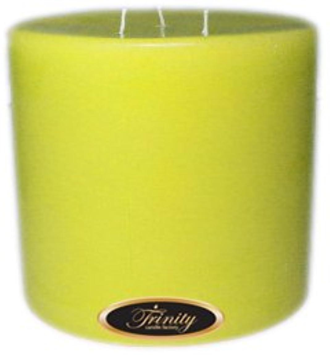 交差点ペンフレンドより良いTrinity Candle工場 – レモンシフォン – Pillar Candle – 6 x 6