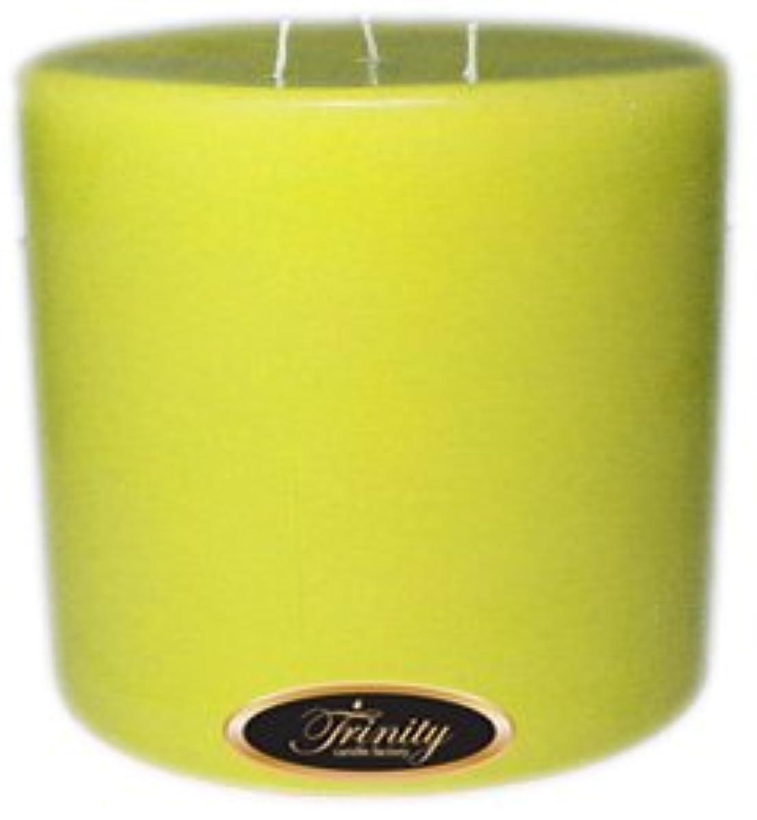 機会待つ浪費Trinity Candle工場 – レモンシフォン – Pillar Candle – 6 x 6
