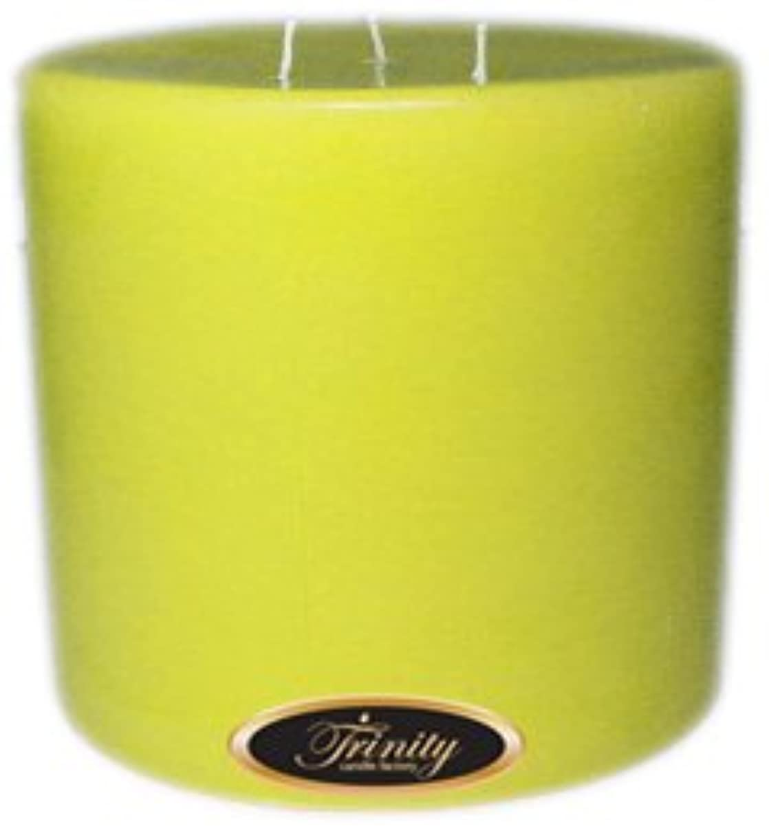 枯れるタヒチ物足りないTrinity Candle工場 – レモンシフォン – Pillar Candle – 6 x 6