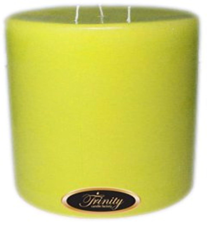 船酔い認可スローTrinity Candle工場 – レモンシフォン – Pillar Candle – 6 x 6