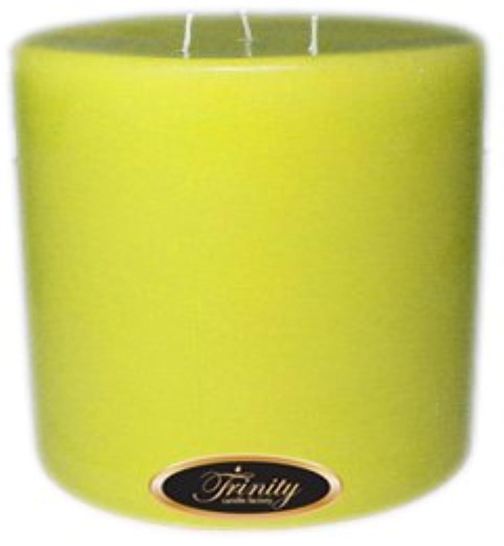 神秘たくさんの小石Trinity Candle工場 – レモンシフォン – Pillar Candle – 6 x 6