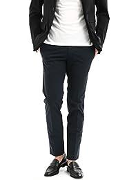 PT01 (ピーティーゼロウーノ) BUSINESS (ビジネス) SUPER SLIM FIT (スーパースリムフィット) Lux Cloth ストレッチ コットン スラックス パンツ NAVY (ネイビー・0360)
