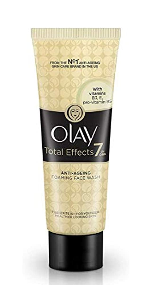 刻む月面バウンスOLAY Total Effects 7in ONE ANTI-AGEING FOAMING FACE WASH 【VITAMINS B3 E B5】 100g [並行輸入品]
