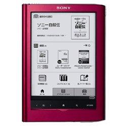 ソニー(SONY) SONY(ソニー)電子書籍リーダー Reader Touch Edition/6型 レッド PRS-650-R