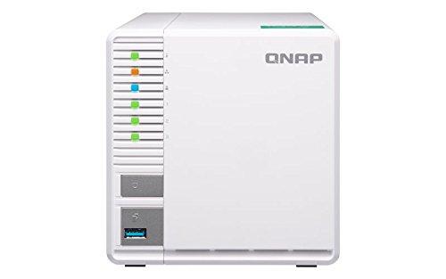 QNAP(キューナップ) 単体モデル 3ベイ NAS QTS搭載 クアッドコア1.4GHz 2GB RAID5対応 TS-328 【日本国内正...