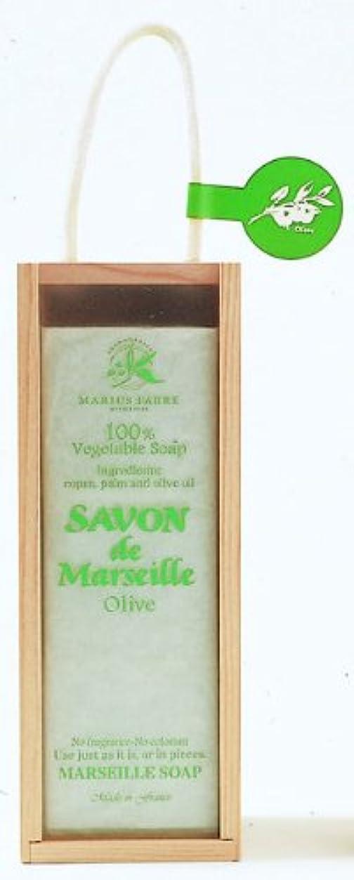 繊毛愚かな人質サボンドマルセイユ オリーブ (200g×3)