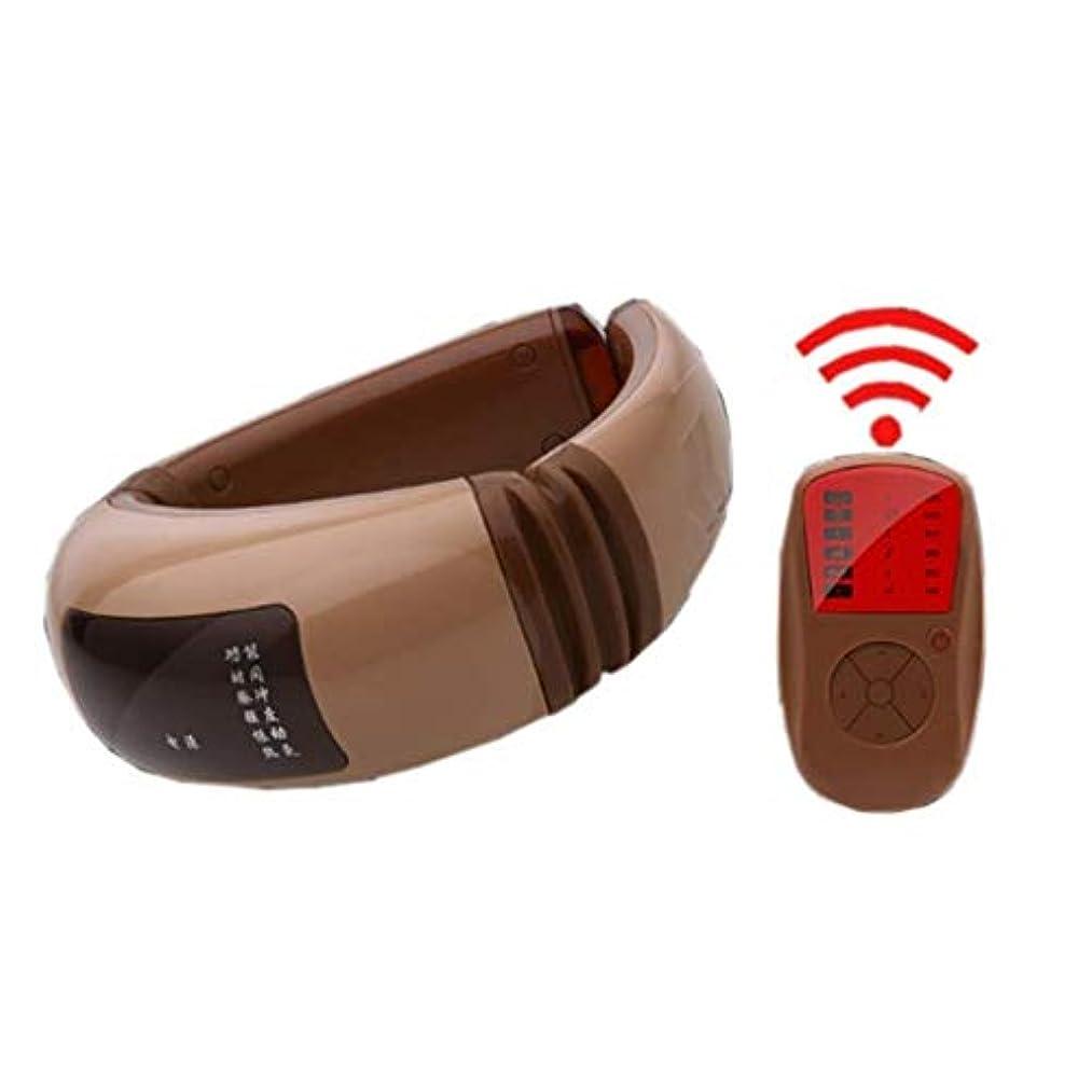 自己ブレーキ病者マッサージャー、ポータブルスマートネック振動マッサージャー、USB充電、デジタルディスプレイ、車のホームオフィスで使用