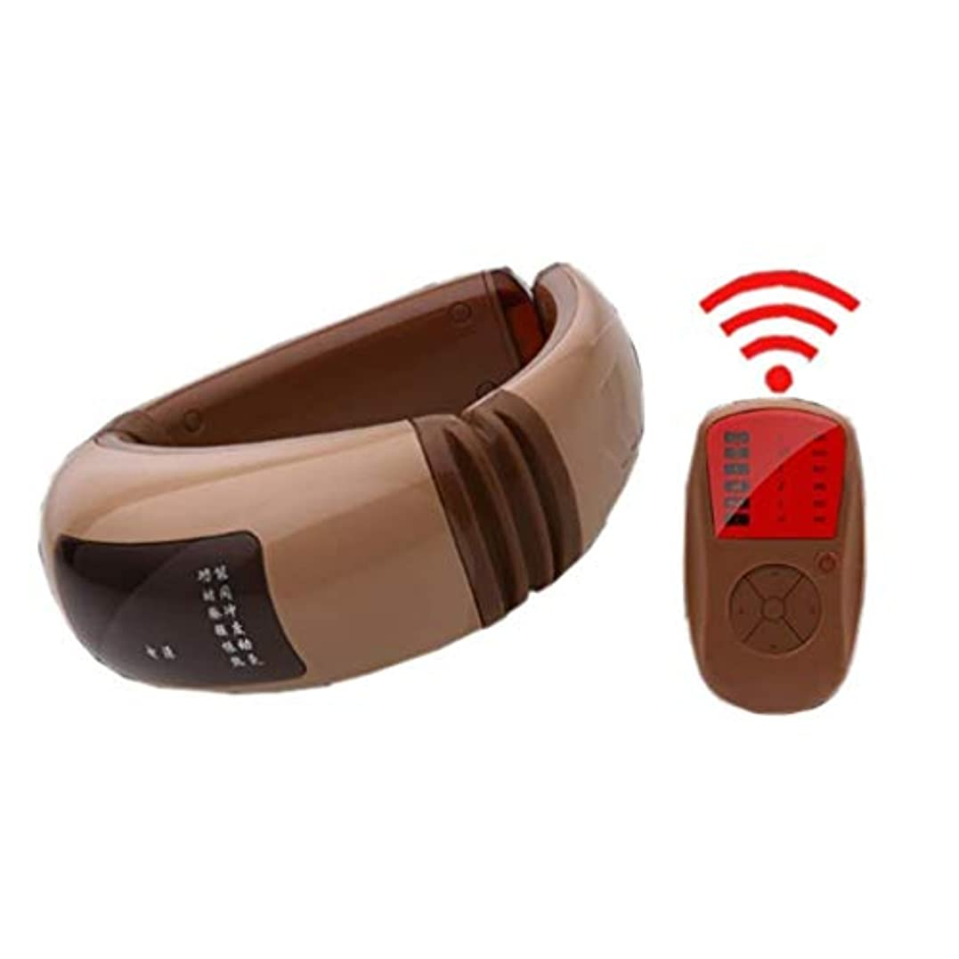 溶けるストレンジャー隠マッサージャー、ポータブルスマートネック振動マッサージャー、USB充電、デジタルディスプレイ、車のホームオフィスで使用