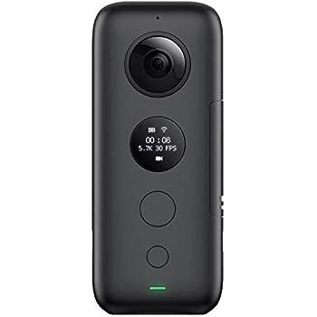 Insta360 ONE X 360度アクションカメラ、FlowState手ブレ補正搭載(SDカード別売り、V30ビデオスピードクラスmicroSDXCが必要)