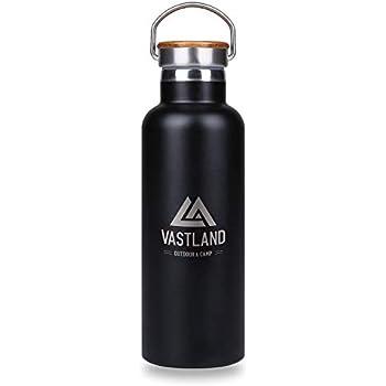VASTLAND(ヴァストランド) 水筒 ステンレスボトル マグボトル 直飲み 二重断熱構造 500ml ブラック