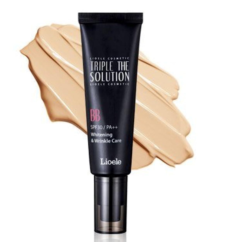 デコレーションからかう潜在的なリオエリ(Lioele) トリプル ザ ソルーション BBクリーム/Lioele Triple The Solution BB Cream [並行輸入品]