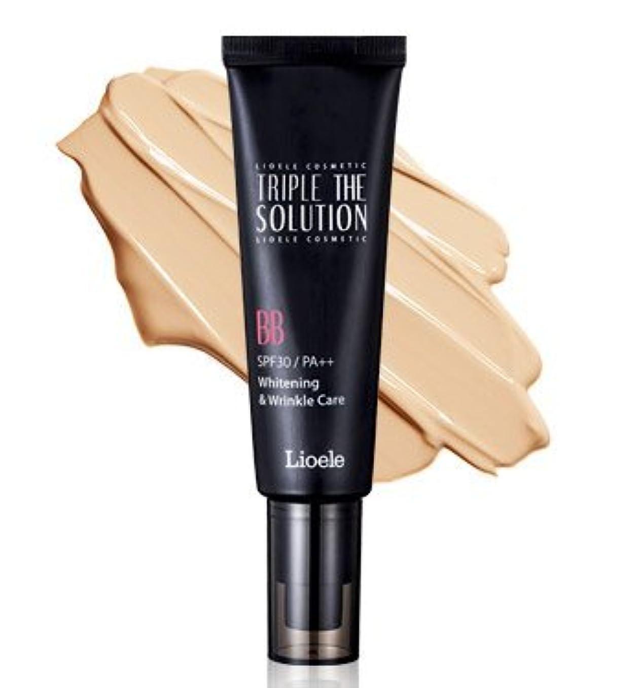 エキス収入直立リオエリ(Lioele) トリプル ザ ソルーション BBクリーム/Lioele Triple The Solution BB Cream [並行輸入品]