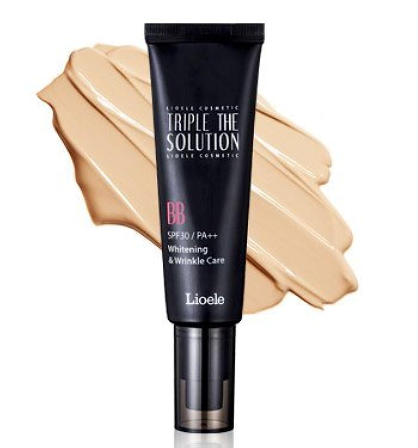 革新同意する舞い上がるリオエリ(Lioele) トリプル ザ ソルーション BBクリーム/Lioele Triple The Solution BB Cream [並行輸入品]