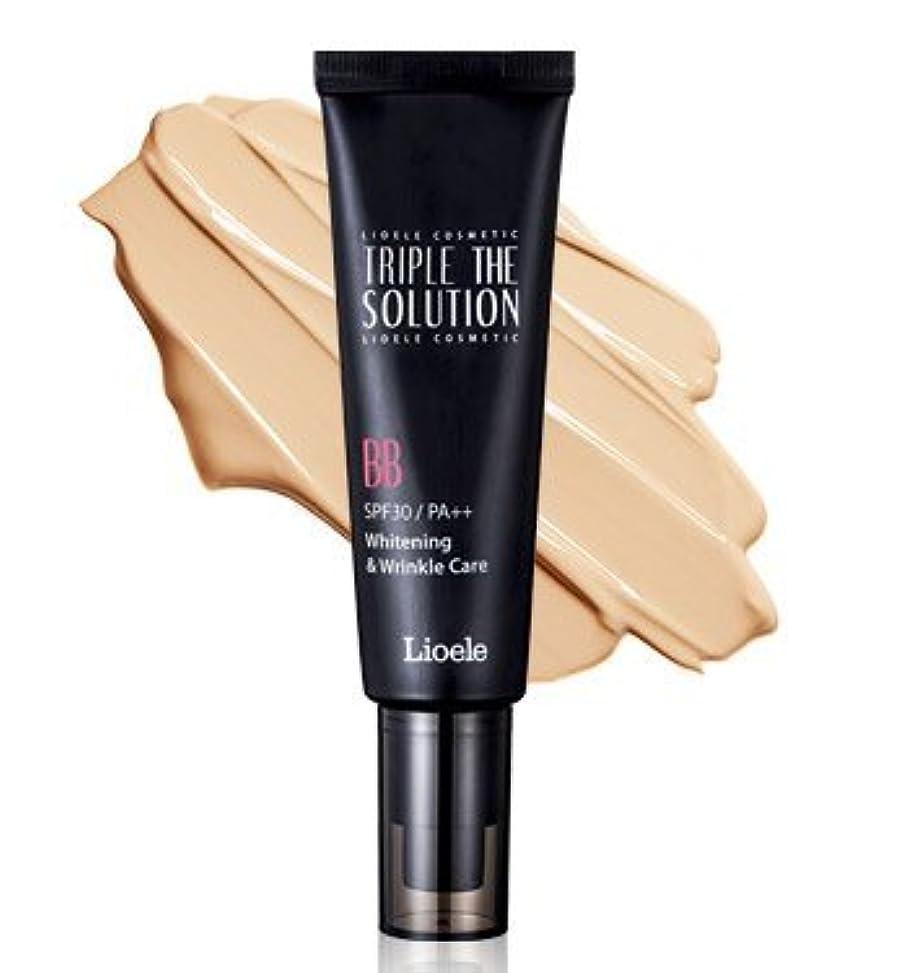上滑る優雅なリオエリ(Lioele) トリプル ザ ソルーション BBクリーム/Lioele Triple The Solution BB Cream [並行輸入品]