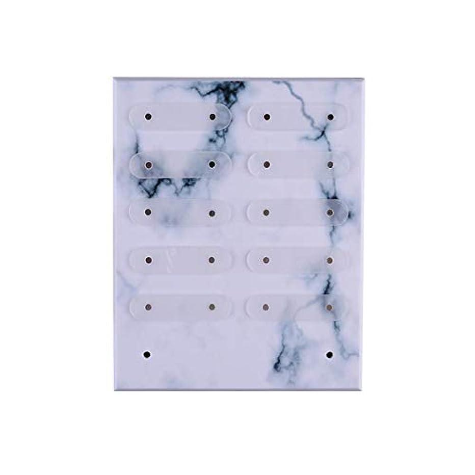 公平毎週オプショナルBrill(ブリーオ) 三次元Magnetadsorptionネイルアートの表示には、ネイルサロン/マニキュア/ペディキュアのための適切な着脱式スタンド
