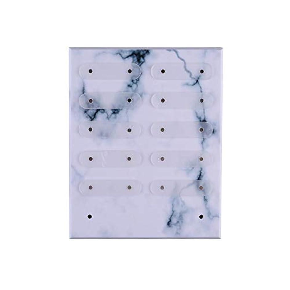 ぬれた個人サラミBrill(ブリーオ) 三次元Magnetadsorptionネイルアートの表示には、ネイルサロン/マニキュア/ペディキュアのための適切な着脱式スタンド