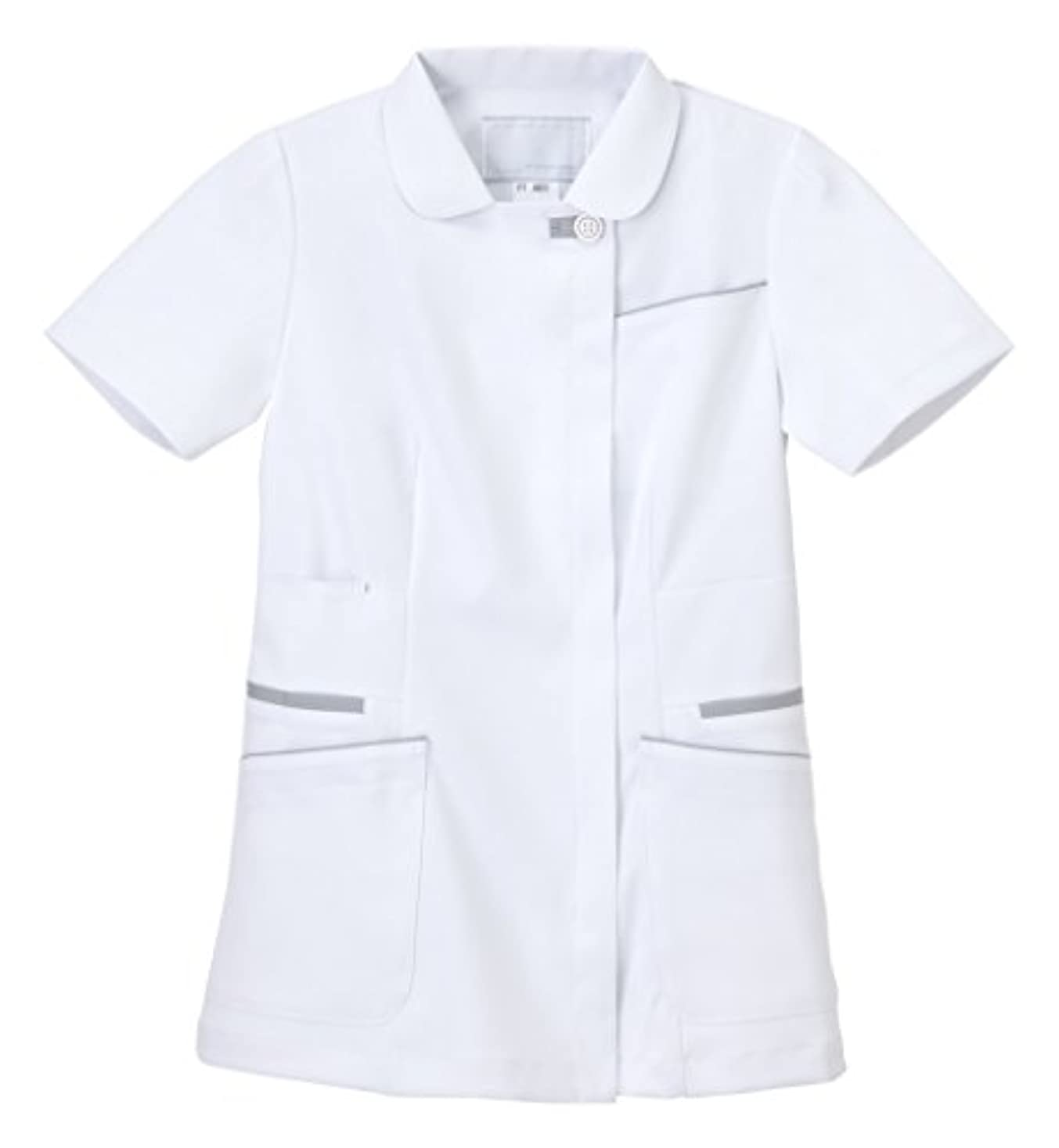 チャペルクレジットセクタナガイレーベン 女子上衣 FT-4622(M)Tシルバーグレー