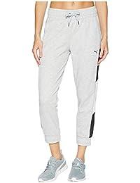 [PUMA(プーマ)] レディースセータージャンプスーツ A.C.E. 7/8 Sweatpants Light Gray Heather XL