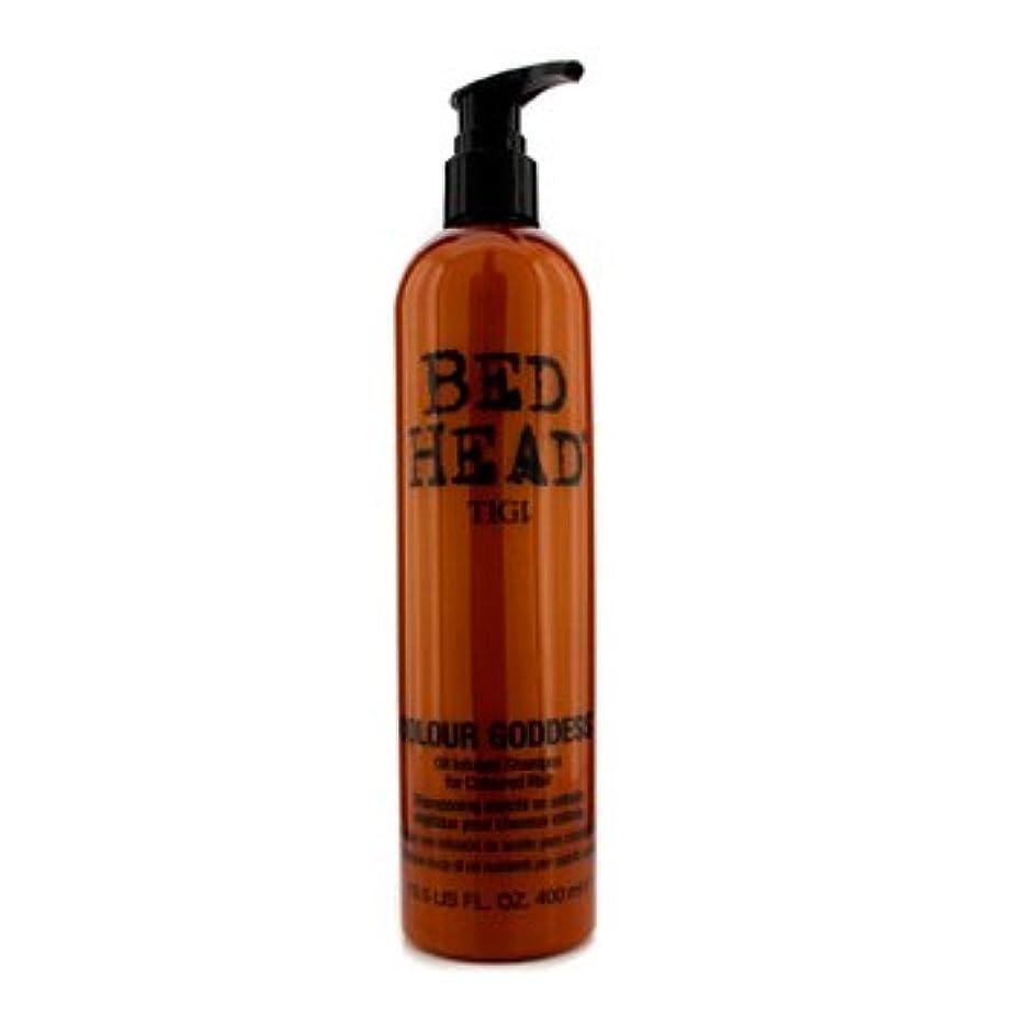 フィヨルド一貫した一回[Tigi] Bed Head Colour Goddess Oil Infused Shampoo (For Coloured Hair) 400ml/13.5oz