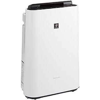 シャープ 加湿空気清浄機 プラズマクラスター ~13畳/空気清浄 ~23畳 ホワイト KC-F50-W