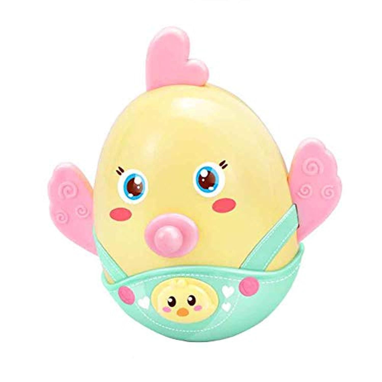 TNGCHI チックシェイプ ベビーラトル おもちゃ クリエイティブ タンブラー お風呂 おもちゃ 幼児 歯固め玩具 赤ちゃん 早期教育 教育玩具 ランダム配送 1個