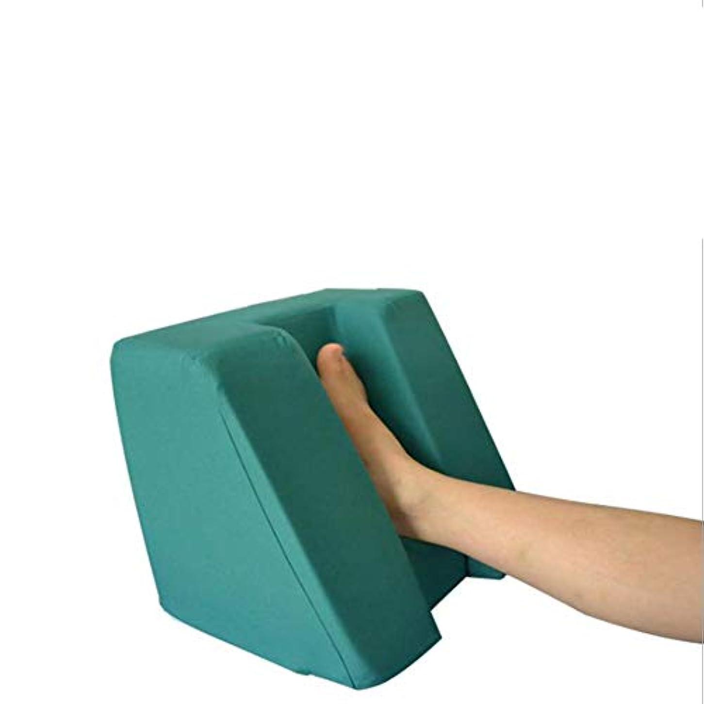 完璧腸可動床ずれ防止綿通気性ヒールクッション、圧力解放ヒールプロテクター。