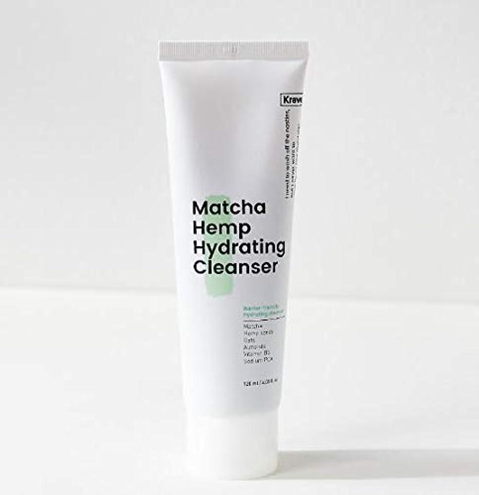 純度ビーチ神話[Krave] Matcha Hemp Hydrating Cleanser 120ml / 抹茶ハイドレイティングクレンザー120ml [並行輸入品]