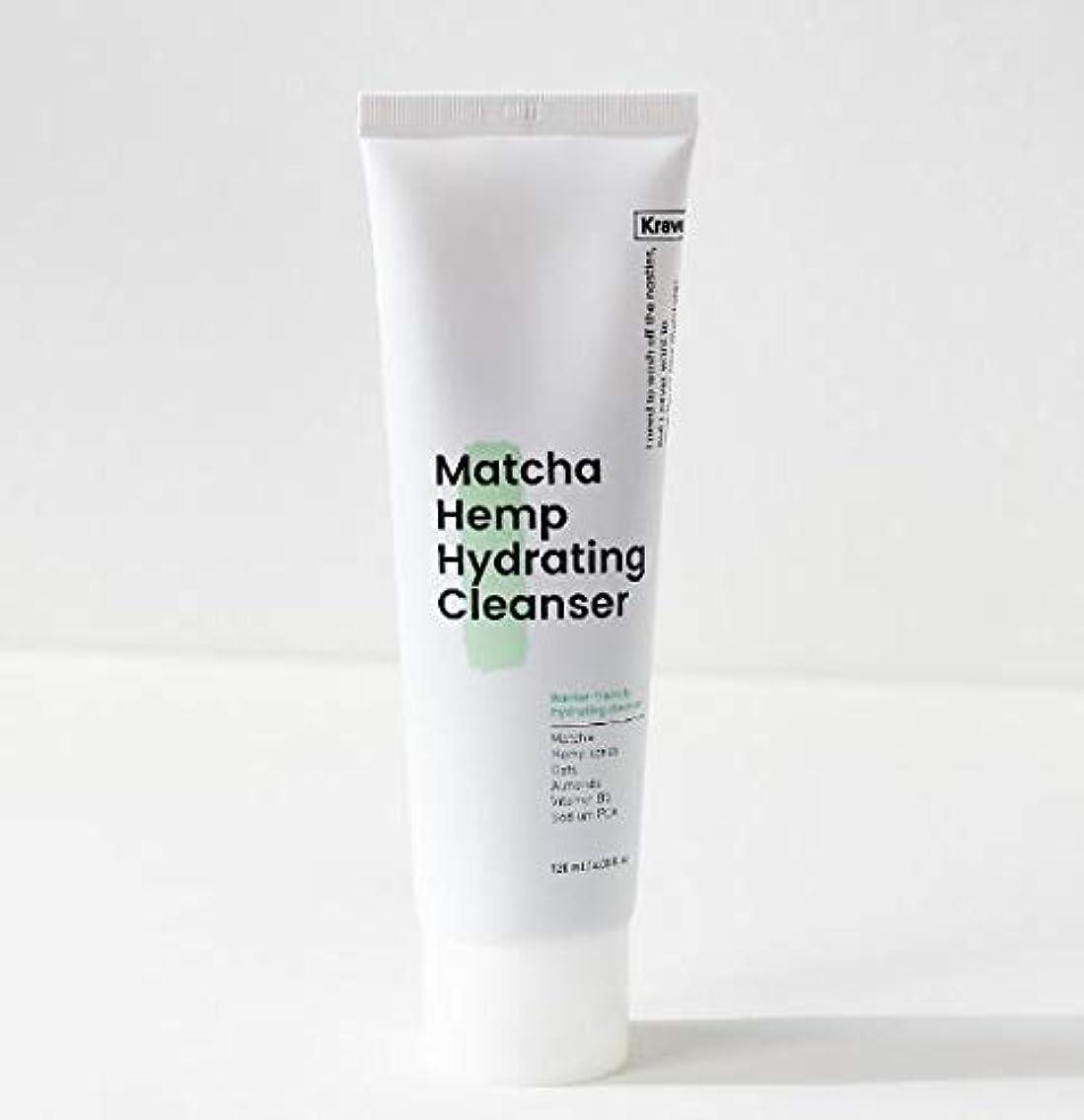 無駄に放置ほぼ[Krave] Matcha Hemp Hydrating Cleanser 120ml / 抹茶ハイドレイティングクレンザー120ml [並行輸入品]