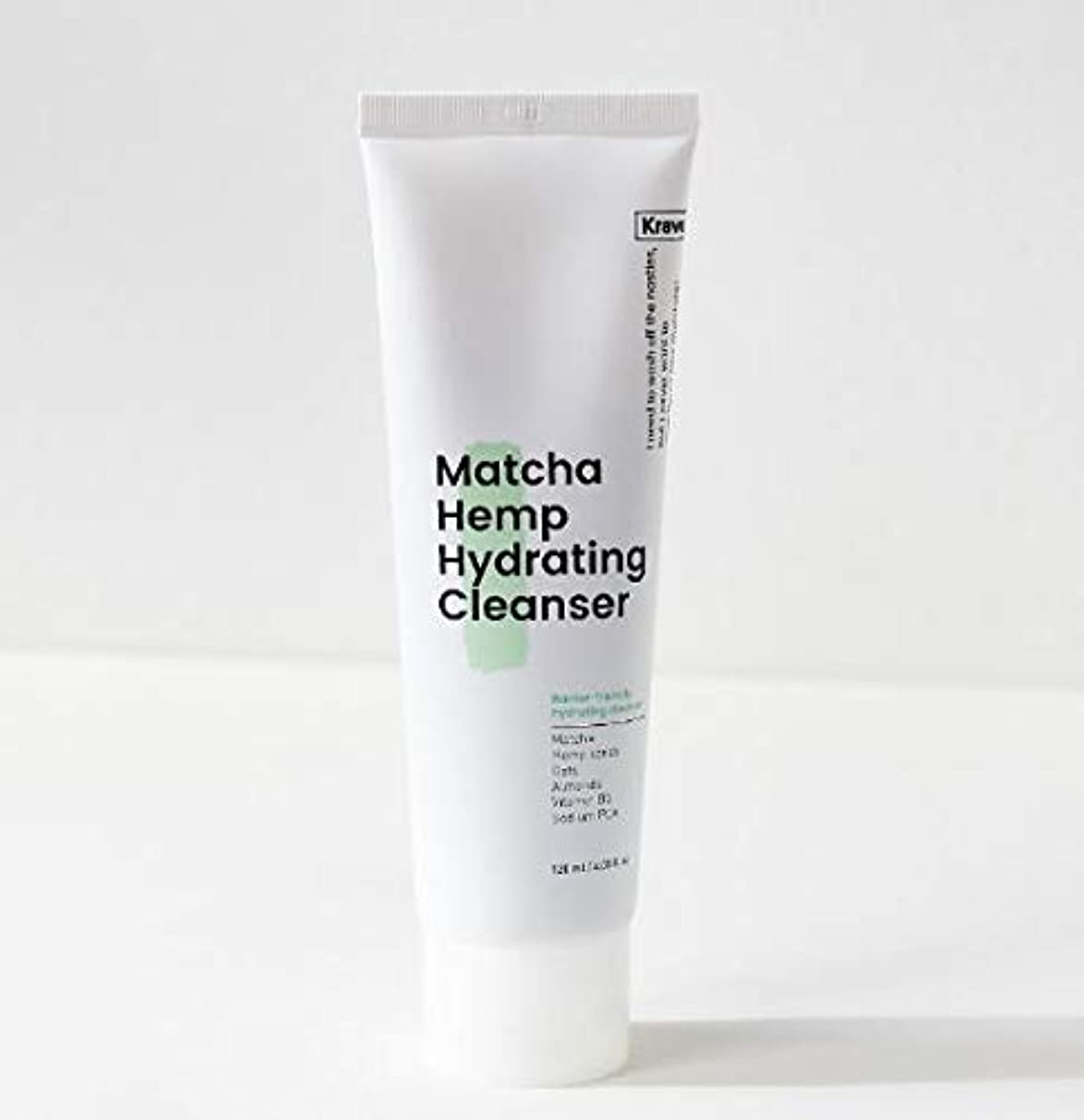 側溝ロシア家畜[Krave] Matcha Hemp Hydrating Cleanser 120ml / 抹茶ハイドレイティングクレンザー120ml [並行輸入品]