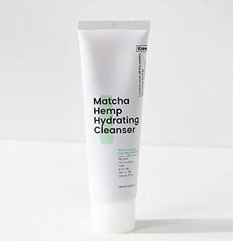 お願いしますチャネル怖い[Krave] Matcha Hemp Hydrating Cleanser 120ml / 抹茶ハイドレイティングクレンザー120ml [並行輸入品]