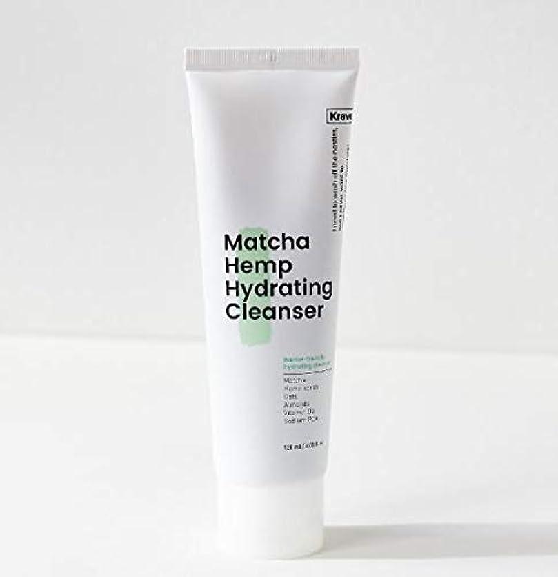 センチメンタル彼女自身ポット[Krave] Matcha Hemp Hydrating Cleanser 120ml / 抹茶ハイドレイティングクレンザー120ml [並行輸入品]