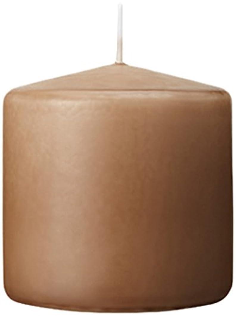 ミトンキャラバン九時四十五分3×3ベルトップピラーキャンドル 「 モカ 」 A9730000MO