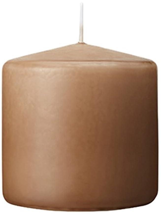郵便フィッティング蓋3×3ベルトップピラーキャンドル 「 モカ 」 A9730000MO