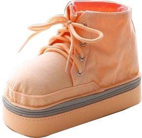 [ MT On&Do ] 2016 キャンバス 筆箱 ペンケース スニーカー型 靴型 大容量 スクール 学校 オフィス 事務 (オレンジ)