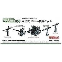 ファインモールド 1/350 ナノ・ドレッドシリーズ 九三式13mm機銃セット プラモデル用パーツ WZ4
