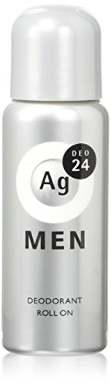 被る延ばす非アクティブエージーデオ24 メンズデオドラントロールオン 無香性 60mL (医薬部外品)