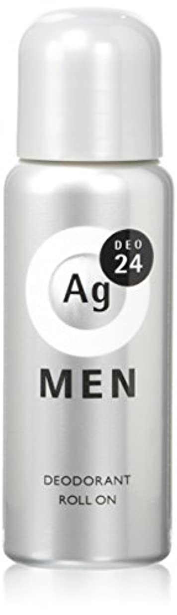 リーン苦しみホームレスエージーデオ24 メンズデオドラントロールオン 無香性 60mL (医薬部外品)