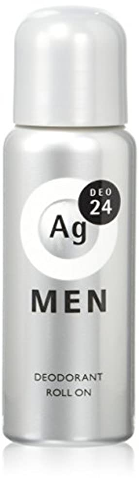 アプライアンス起きる麦芽エージーデオ24 メンズデオドラントロールオン 無香性 60mL (医薬部外品)