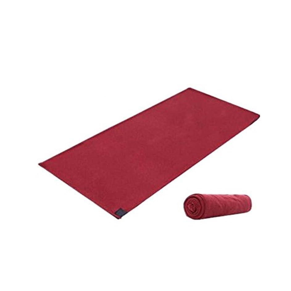 くしゃみお金きらめく暖かいフリース旅行とキャンプシート寝袋睡眠袋(赤)