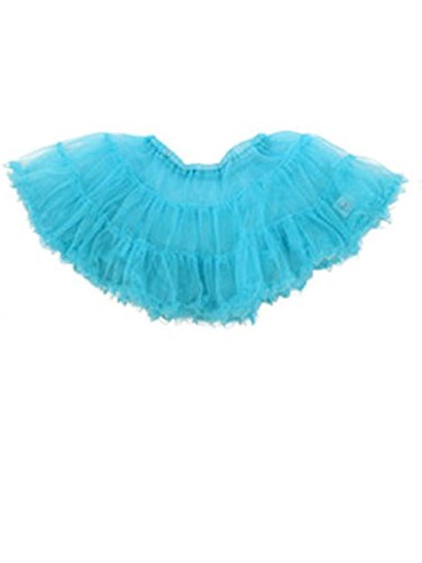 見ましたクローンリーズコスプレ スカート 衣裳 ふんわり パニエ ボリューム コスチューム用 小物 ドレス 青 tg001bl
